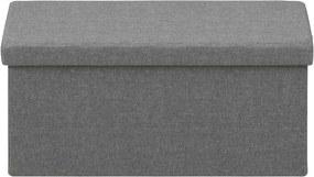 Taburetka s vekom skladacia Simon, 80 cm, svetlo šedá - svetlo