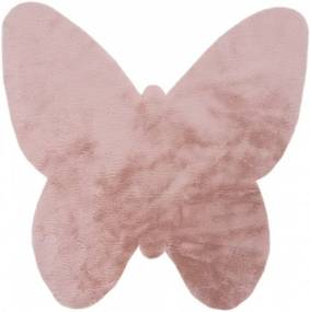 Obsession koberce Pro zvířata: kusový koberec Luna 855 powder pink - 86x86 cm