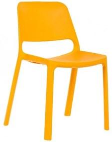 Jedálenská stolička Pixel BR oranžová