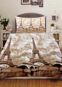Home of Dream Bavlnené 3D obliečky Aspasia (2-dielna sada), 140 x 200 cm
