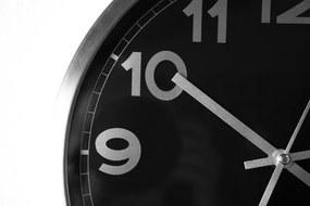 Bighome - Nástenné hodiny RAMBOY - čierna