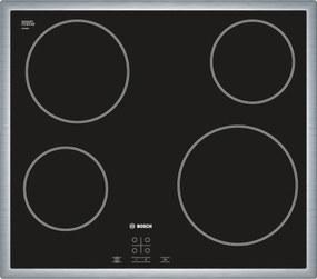 Sklokeramická varná doska Bosch čierna PKE645D17E