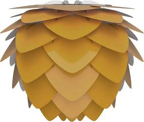 ALUVIA MINI   dizajnové tienidlo Farba: Žltá