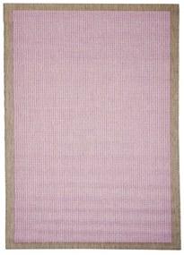 Fialový vonkajší koberec Floorita Chrome Plum, 200 × 290 cm