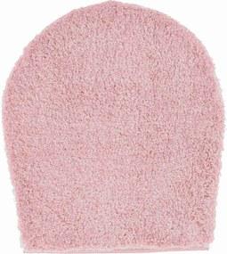 GRUND Kúpeľňová predložka MELANGE rosé Rozmer: 47x50 cm - na víko od WC nebo jako podsedák na židli