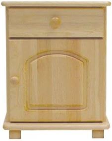 AMI nábytok noční stolek S5 borovice