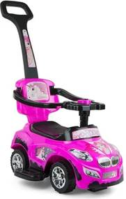 MILLY MALLY Nezaradené Detské jezdítko 2v1 Milly Mally Happy pink Ružová |