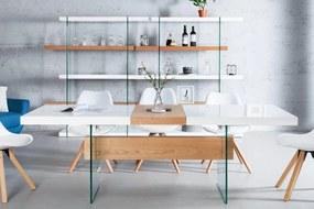 Dizajnový jedálenský stôl rozkladací Livid 160-200cm