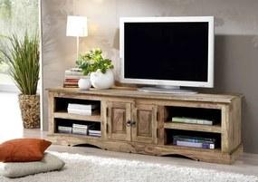 Bighome - CASTLE TV stolík 150x45 cm, palisander