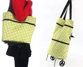 Multifunkčná nákupná taška s kolieskami