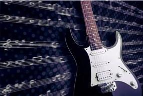 Dimex SK Fototapeta Elektrická gitara MS-304, 2 rôzne rozmery XL - š-375 x v-250 cm