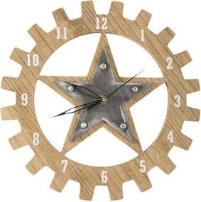 Moderné nástenné hodiny TEXA 30 cm