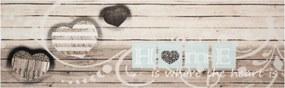 Zala Living - Hanse Home koberce Běhoun Cook & Clean 103830 Cream Grey - 45x140 cm