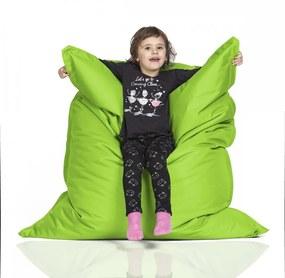 CrazyShop Sedací vak KIDS, neónovo zelený