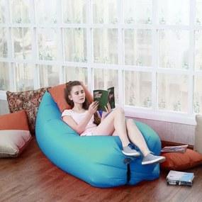 Nafukovacia relaxačná posteľ- Zelená