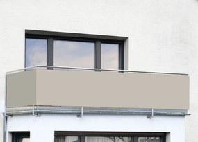 Zástena na balkón Piesok