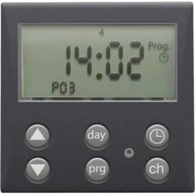 NIKO 122-78200 Digitálny časovač alebo elektronické spínacie hodiny, Anthracite