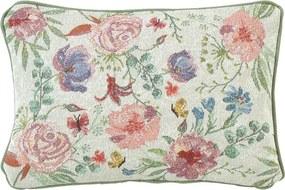 Kvetinový vankúš s výplňou Bloom 23 x 33 cm - Sander