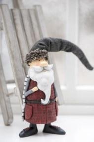 IB LAURSEN Vianočná figúrka Santa Claus Standing