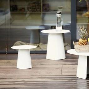 Príručný stôl FEEL | 50 cm » biela