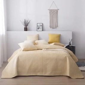 Luxusný prehoz na posteľ MOXIE marhuľový 160 x 220