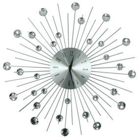 TZB Dizajnové nástenné hodiny Cristal Moon - 50 cm