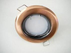 T-LED LED bodové svetlo do sadrokartónu 3W antik - meď 230V Farba svetla: Teplá biela
