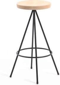 Barová stolička Mobles 114 Nuta Beech, výška 60cm