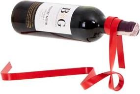 Master Držiak na fľašu vína STUHA červená