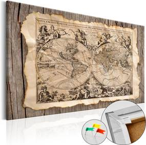 Obraz na korku - Map of the Past [Cork Map] 90x60