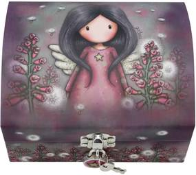 Santoro London - Šperkovnica na zámok - Gorjuss - Little Wings