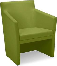 NOWY STYL Club SQ konferenčné kreslo zelená