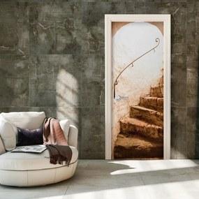 Fototapeta na dvere Bimago - A Secret Place + lepidlo zadarmo 70x210 cm