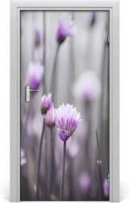 Fototapeta samolepiace  kvety pažítky