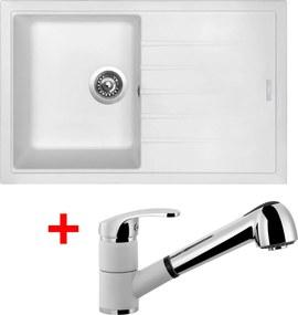 Akčný set Sinks drez BEST 780 + batéria LEGENDA S Milk