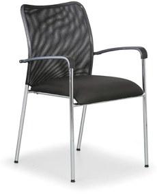 Antares Konferenčná stolička John Minelli, čierna