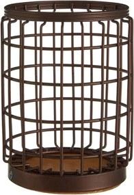 Železný stojan v bronzovej farbe na kuchynské nástroje Premier Housewares, Ø 12 × 17 cm