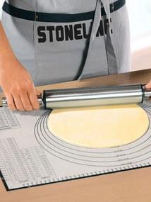 Stonelinepodložka na pečenie Stoneline biela-šedá