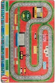 Detský koberec Station, 140 × 190 cm