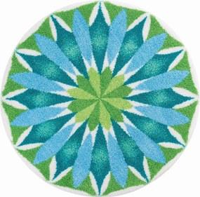 GRUND Mandala predložka SVÍTÁNÍ bledomodrá Rozmer: o 60 cm