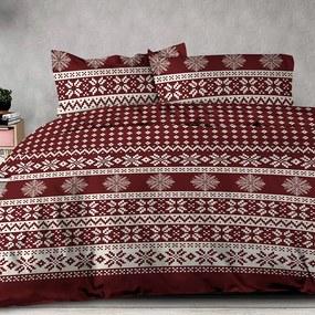 XPOSE® Bavlnené obliečky Renforcé ESTRELA - červená