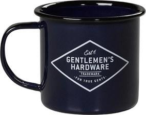 Gentlemen´s Hardware Smaltovaný hrnček Gentlemen's Hardware - modrý