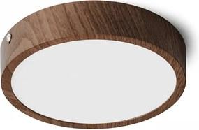 HUE R 17 | stropné okrúhle led svietidlo Farba: Dekor orech