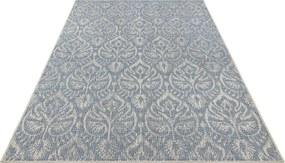 Bougari - Hanse Home koberce Kusový koberec Jaffa 103891 Azurblue/Taupe - 140x200 cm