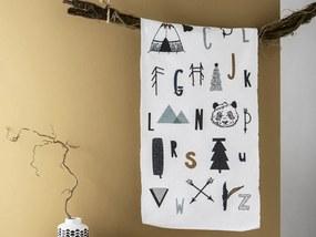 TODAY KIDS bavlněný koberec Child of the Forest 60x120 cm