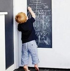 Promoteus.sk, Samolepky na stenu, Nálepka TABUĽA, Detské, čierna, 45 x 200 cm