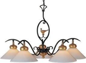 Menzel Provence Chalet – závesná lampa 5-pl.