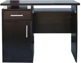 Kancelársky počítačový stôl šírka 95 cm - Buk