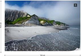 Fototapeta GLIX - White Cliffs Of Iturup Island + lepidlo ZADARMO Vliesová tapeta  - 104x70 cm