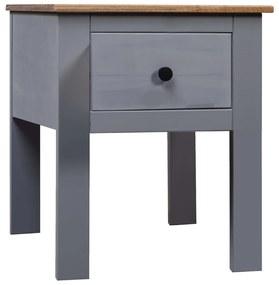 vidaXL Nočný stolík sivý 46x40x57 cm borovica Panama Range